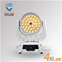4X LOT 36pcs*18W 6in1 ZOOM LED Moving Head Wash Light with Touch Screen Display, ADJ LED Moving Head
