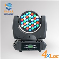 4X LOT 36pcs*3W 4in1 Cree LED Moving Head Beam, Stage Moving Head Light with LCD Display