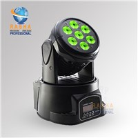 Hot Sale 7*12W 4in2 RGBW LED Moving Head Wash,Stage Moving Head Light