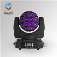 NEW 12pcs*10W 4IN1 RGBW Cree LED Beam Moving Head Light,Stage Light