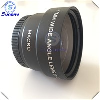 Camera lenses, wide angle lenses 37mm 43mm 58mm 67mm