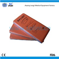 Malleable orthopedic folded splint