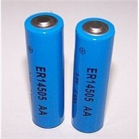ER14505 /AA size Li-SOCI2-Battery, 3.6v lithium batteries