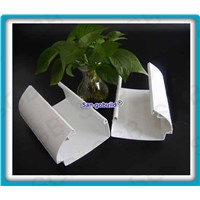 5.2 inch Square PVC Gutter Roof Drain Gutters
