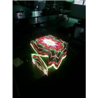 P4 full color magic cube led screen