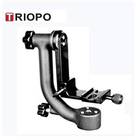 "TRIOPO DG-3  gimbal head tilt head bird watching head with 1/4"" screw"