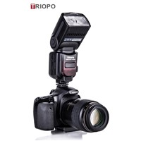 TRIOPO TR-586 dslr camera speedlite ,manufacture TTL flashgun  with slave flash for Nikon and Canon