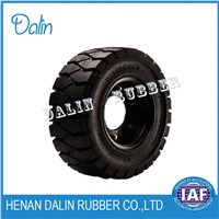 TRUCK SPONGY SOLID TIRE with Henan Brand