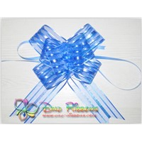 large colorful decorative organza pull bow ribbons
