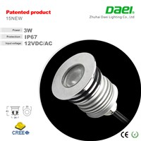 3w led underground light 180lm