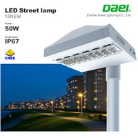 50w led street light 4580Lm with mean well driver