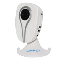 H.264 1MP Smartphone View Home Low Cost Mini Baby Monitor Wifi Camera