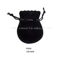 calabash shape drawstring jewelry bag(P0035)