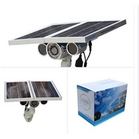 Solar Power New Upgrade Built-in 16G TF Card P2P Ap Onvif Wifi IP Camera Battery inside