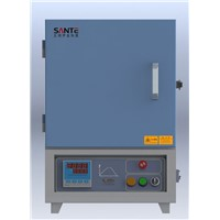 (1Liter) 1000c Mini Muffle Furnace with 16 Programable