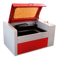 350 model ,Laser engraving machines with CE, applied to cloth, leather use