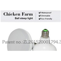 LED poultry light LED bulb dimmable weraterproof