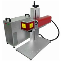 cheap 20w mini fiber laser engraver for sale, fiber laser marking machine for metal