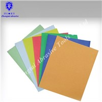 color sand paper for drawing and decoration
