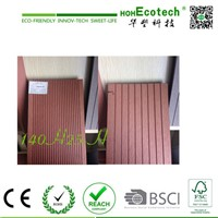 batch wpc wholesale China CE ASTM decking factory Anti-skidding Pest-resistant WPC Hollow flooring