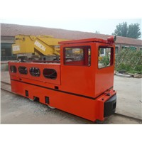 China coal CCG-5/600 mining explosion-proof diesel locomotive