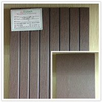China wood plastic composite /CE SGS ASTM WPC factory eco decking