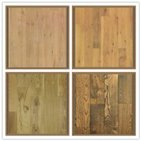 Flat Engineered Flooring-Oak