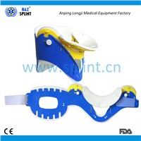 Plastic and Foam Universal Adjustable Cervical Collar