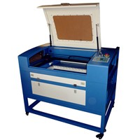 60w laser cutting machine for 8-10mm acrylic sheet