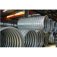 Integral corrugated steel pipe is the optimum combination of strength, flexibility and performance