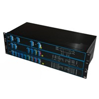 "4,8,16-CH CWDM Mux/Demux Packed in 19"" Rack"