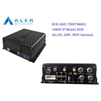 AHD 720p,960H 1080P  12 Channel Basic Car DVR Mobile DVR GPS,3G ,WIFI