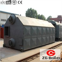 horizontal steam coal fired boiler