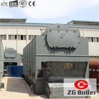 packaged grate water-fire tube coal boiler