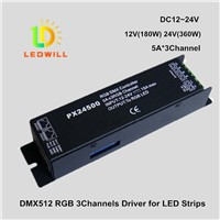 Dmx512 decoder driver  with lights spotlights lighting lamp High Power DMX Decoder driver