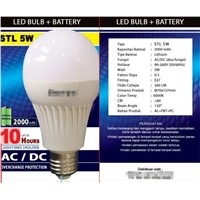 LED emergency bulbs
