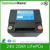 LiFePO4 Battery 24V 20ah for Electric Vehicle Battery