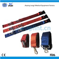 Metal buckle  adjustable firm spine board  straps