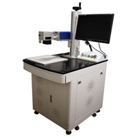 Pulsed Ytterbium fiber laser marking machine for surgical instruments