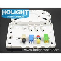 4 CORE FTTH Termination Box