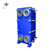 Cooling and heating high efficiency plate heat exchanger