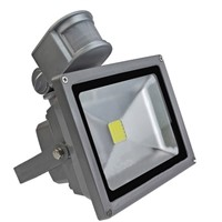 10 Watt LED Floodlight with PIR Motion Sensor