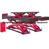 4T big scissor lift double scissor lift