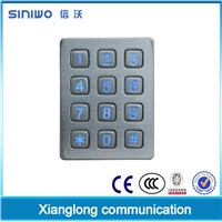 4x3 matrix 12 keys numeric keypad mobiles|number pad