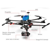 hot selling China Unmanned Aircraft Sprayer