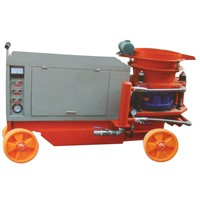 shotcrete machine with 5m3/h capacity
