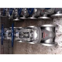 API/ANSI Stainless Steel Flanged Gate Valve(risting stem)