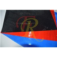 Crystal lattice PVC Reflective sheeting for bags