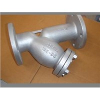 Stainless Steel Flanged Y-Strainer (with flanged cap) JIS 10K 316L 304L