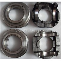 Rexroth #AA11VLO250 pump part (bearing flange, barrel, drive shaft, valve plate, drive shaft)